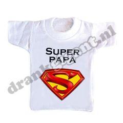 Super Papa Flessen T-shirt