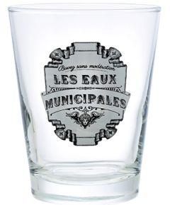 Les Eaux Water Glas