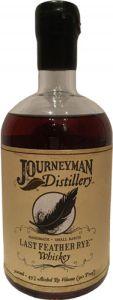 Journeyman Distillery Last feather Rye Mini