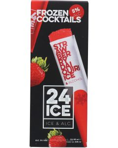 24 ICE Strawberry Daiquiri Ice