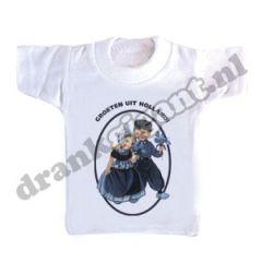 Groeten uit Holland Flessen T-shirt