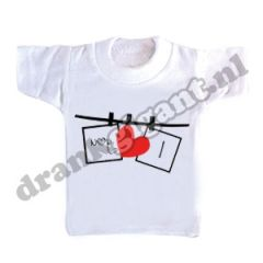 I love You Flessen T-shirt