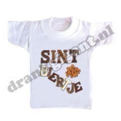 Sint Biertje Flessen T-shirt