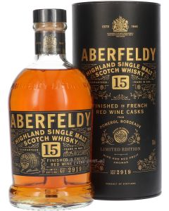 Aberfeldy 15 Year French Red Wine Finish