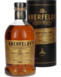Aberfeldy 15 Years Exceptional Cask