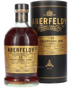 Aberfeldy 18 Years Exceptional Cask