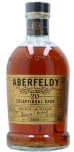 Aberfeldy 20 Years Exceptional Cask