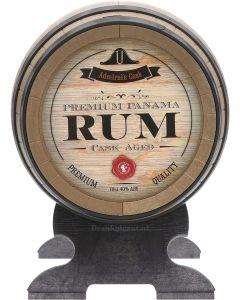 Admirals Cask Premium Panama Rum Plastic Vat
