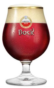 Amstel bierglas Bockbier