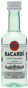Bacardi Carta Blanca Mini
