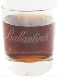 Ballantine's Go-Play Glas