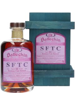 Ballechin SFTC 11 Years Bordeaux Cask Matured 53.4%