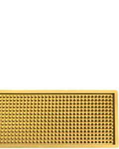 The Bars Dripmat Gold