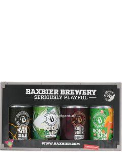Baxbier Proefbox 4 Blikken