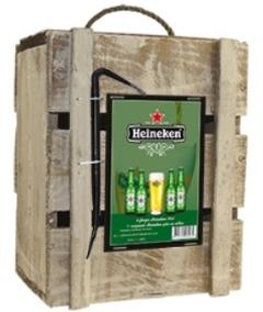 Bierbox Heineken met Breekijzer