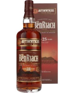 Benriach 25 Year Authenticus