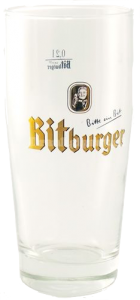 Bitburger Glas 25CL