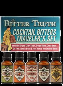 Bitter Truth Travelers mini set