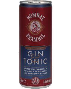 Bombay Bramble Gin & Tonic Blik
