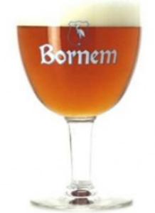Bornem Bierbokaal Bruin logo