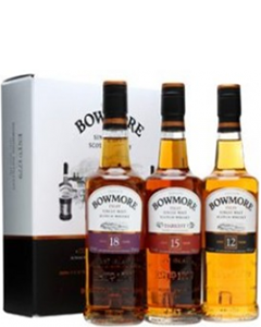 Bowmore Gift set 12/15/18