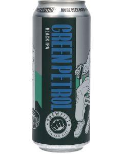 Brewfist Green Petrol Black IPA