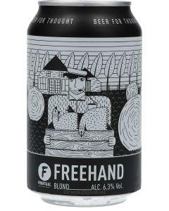 Brouwerij Frontaal Freehand Blond