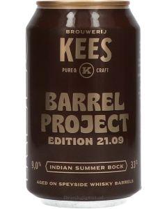 Brouwerij Kees Barrel Project 21.09 Indian Summer Bock