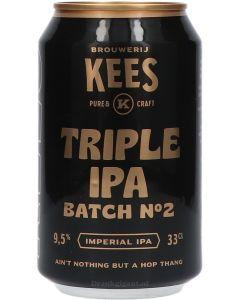 Brouwerij Kees Triple IPA Batch 2