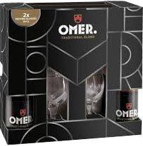 Omer Cadeau + 2 glazen