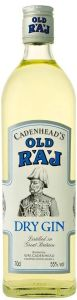 Cadenhead's Old Raj Dry Gin Blue Label