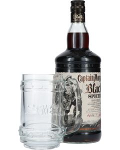 Captain Morgan Black Spiced + Gratis Luxe Pull