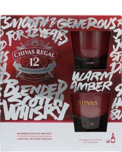 Chivas Regal 12 Years giftpack Limited Edition Design