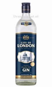 City of London Blue Gin