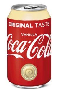 Coca Cola Vanille Blik
