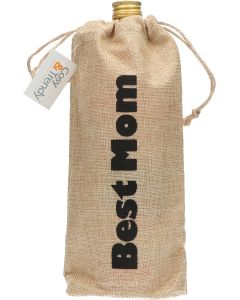Cosy & Trendy Jute Cadeauzak Best Mom