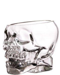 Magnum Skull Glas