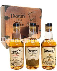 Dewars Variety Collection 3x