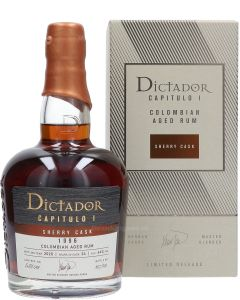 Dictador Capitulo I Sherry Cask 24 Year 1996