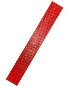 The Bars Dripmat Red