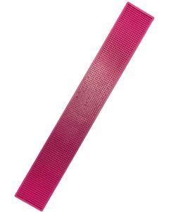The Bars Dripmat Pink