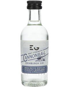 Edinburgh Cannonball Navy Strength Gin Mini