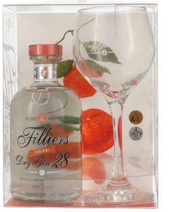 Filliers Tangerine Cadeaupakket Copa Glas