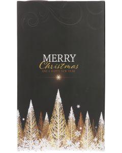 Flesdoos Golden Tree Kerstmis voor 2 flessen