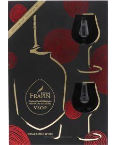 Frapin VSOP Cadeaubox + Glazen