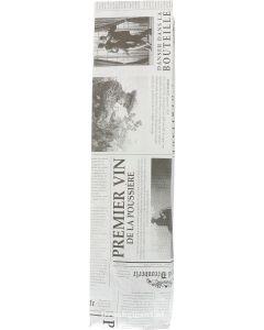 Cadeau / Geschenkzak Kranten print