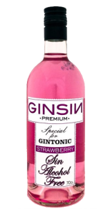 GinSin Strawberry Alcohol Free
