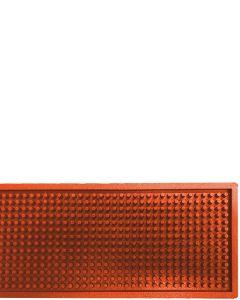 The Bars Dripmat Orange