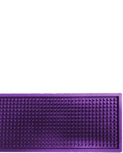 The Bars Dripmat Purple