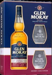 Glen Moray Sherry Gift + 2 Glazen